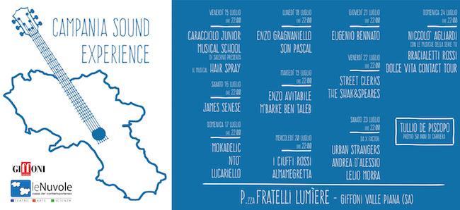 Campania Sound Experience 2016