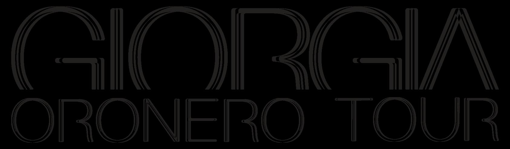 Giorgia Oro Nero Tour 2017