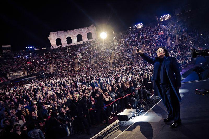 Renato Zero Live Arena di Verona - Ph. Simone Cecchetti