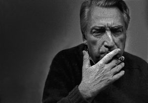 FRANCE. Paris: the french writer and philosopher Roland BARTHES. © Ferdinano Scianna/Magnum Photos/Contrasto (dal libro Visti&Scritti).