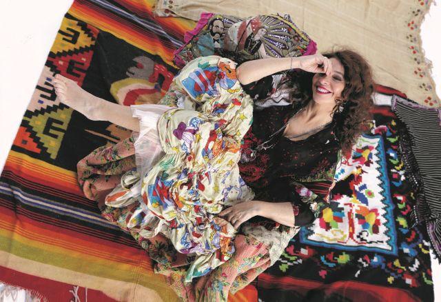 Teresa De Sio ( Foto di Luciano Viti)