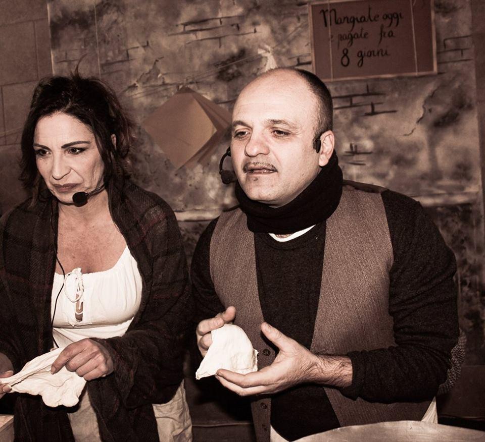 Loredana Simioli e Peppe Iodice