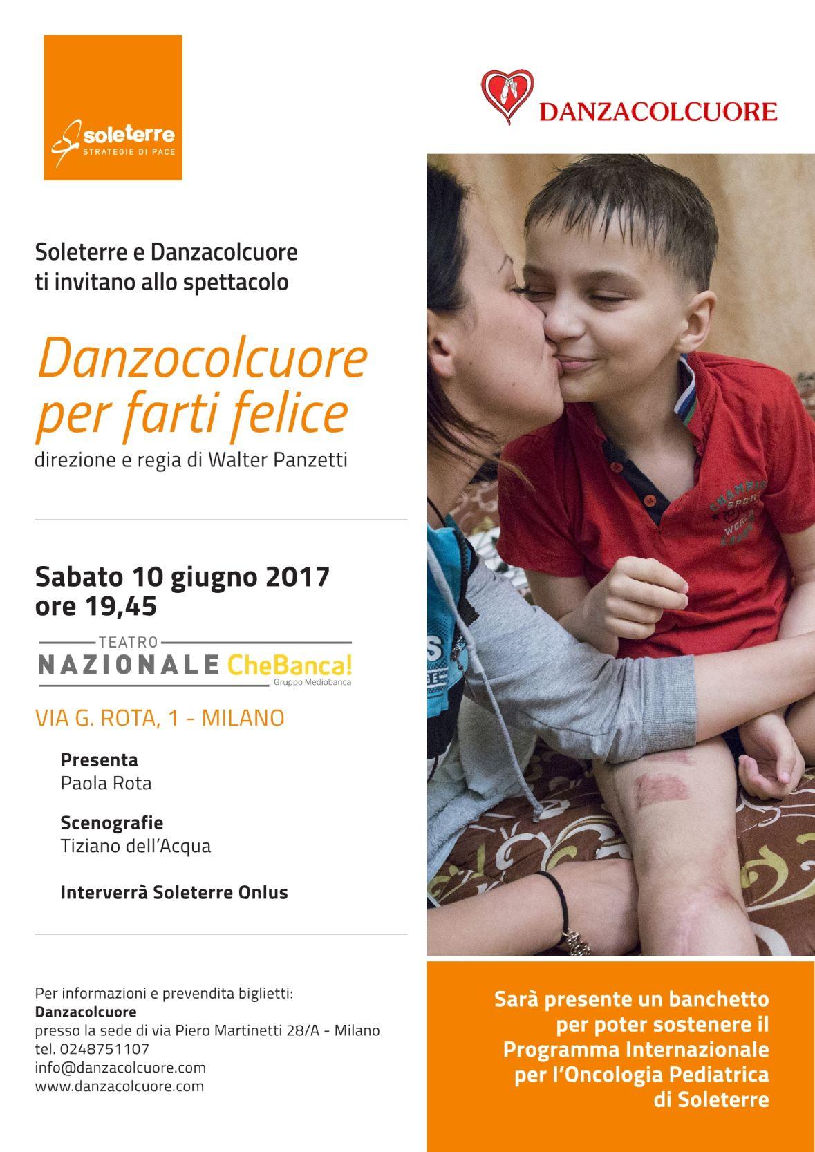 """Sabato 10 giugno presso il Teatro Nazionale """"CheBanca """" di MILANO Via Giordano Rota 1 – ore 19 45 – costo ingresso 12 14 euro"""