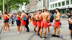 Street Parade @ Zurigo. Copyright by Antonello Hank Trezza