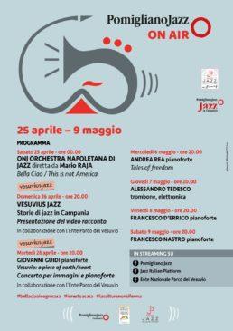 Locandina Pomigliano Jazz Festival On air