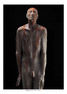 Hope (legno noce) 172 cm x 40 cm - anno 2009_runggaldier