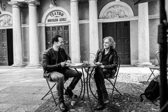 Luciano Ligabue / Stefano Accorsi (Foto di Jarno Iotti)